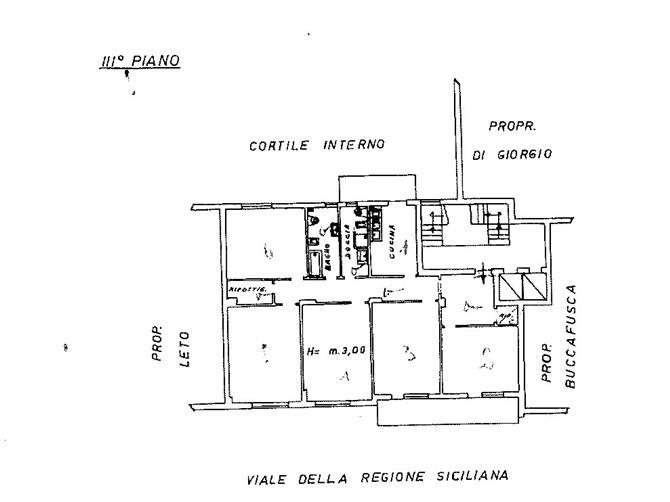 Vendita casa a palermo in viale della regione siciliana for Piano casa lazio proroga 2018
