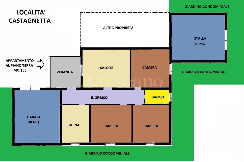 Vendita Casa A Ardea In Castagnetta 1102018 Toscano