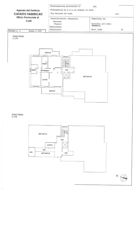 Vendita Casa A Lodi In Via Giraldo Da Lodi 70 2020 Toscano
