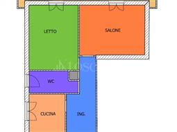 Casa in affitto di 71 mq a €650 (rif. 86/2018)